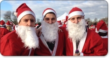Run 4 Cancer in this year's Santa Run