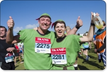 Run 4 Cancer in this year's Robin Hood Marathon